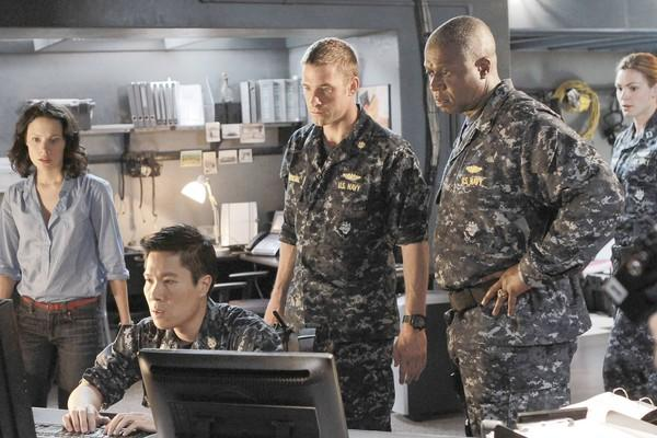 "Andre Braugher, right, in ""Last Resort."""