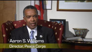 Mark is joined by Peace Corps Director, Aaron Williams