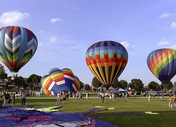 Green Grove Gardens east of Greencastle, Pa., will host a hot-air balloon festival Friday, Aug. 3, through Sunday, Aug. 5.
