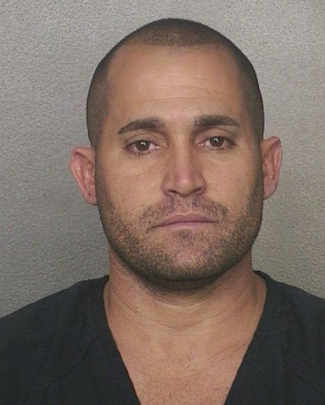 Roberto Morales Diaz, 34, is accused of stealing two boat motors in Southwest Ranches