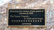 Tucson shooting Safeway plaque