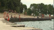 Man pulled from Lake Michigan dies