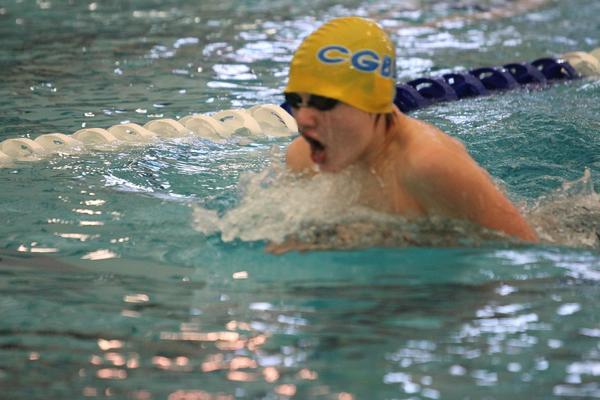 Colony swimmer Jordan Duncan