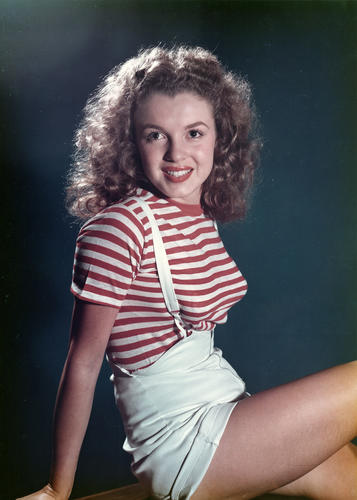 Marilyn Monroe, 1947.