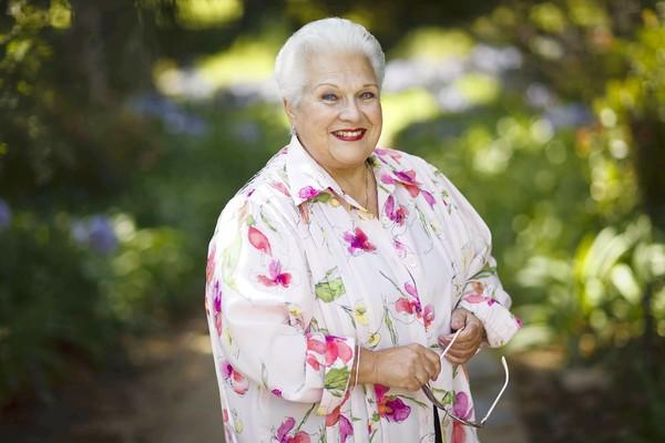 Marilyn Horne at the Music Academy of the West in Santa Barbara.
