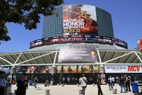 The annual E3 video game expo is held at the Los Angeles Convention Center.