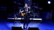 Nine-time Grammy winner Sheryl Crow performed at the Pacific Amphitheatre in Costa Mesa Wednesday evening, treating a near-sold out crowd to 80 minutes in folk-rock heaven.