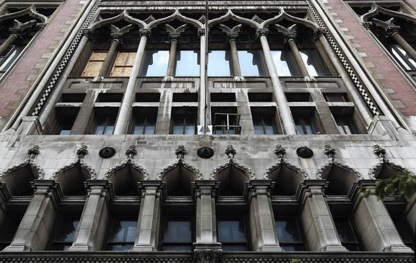 Chances are that the Chicago Athletic Association building, above, will join the ranks of such successful architectural recycling projects as the transformation of the Reliance Building into the Hotel Burnham and the Carbide & Carbon Building's reincarnation as a Hard Rock Hotel.
