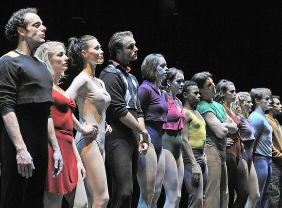 """A Chorus Line"" at the Paramount Theatre in Aurora."