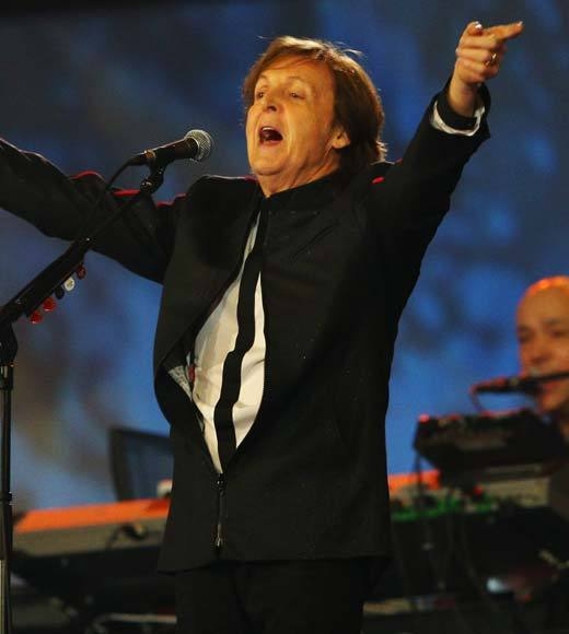 2012 Summer Olympics Best and Worst moments: Well hand it to Britain -- as far as historic national music catalogs go, they pretty much take the cake. Sir Paul McCartney and a rousing rendition of Hey Jude was an excellent way to end the Opening Ceremony.  -- Andrea Reiher, Zap2it