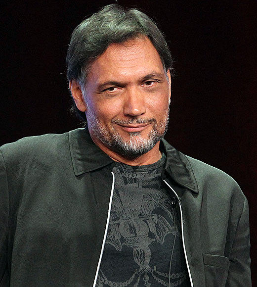 Overheard at 2012 Summer TV Press Tour: Im just happy I dont have to wear a suit. -- Jimmy Smits on the appeal of joining Sons of Anarchy