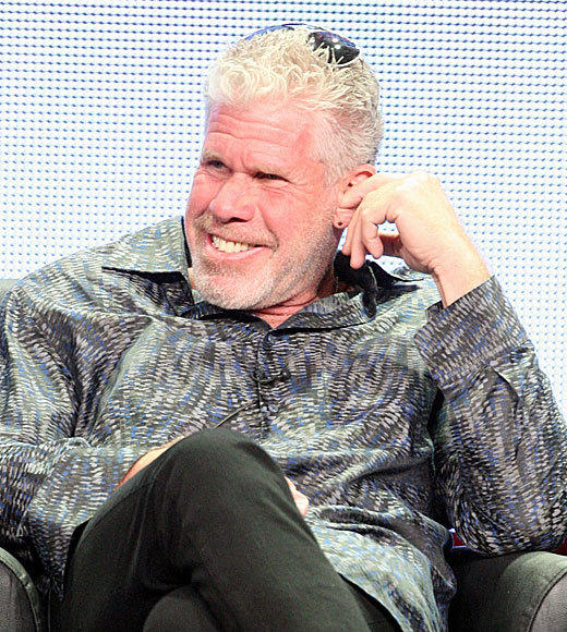 """Are they really?"" -- <b>Ron Perlman</b>'s reaction to hearing The CW is remaking ""Beauty and the Beast"""