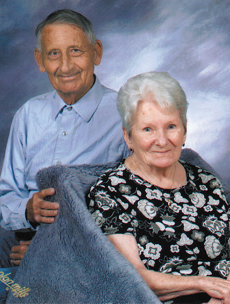 This is the last professional photo taken of Bob and Violet Golden. It was taken in September 2009.