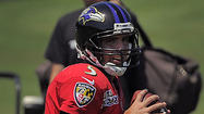 <strong>CUNDIFF BLINKS:</strong> It took a full week of practices, but one of the kickers finally missed a field goal. After making his first 18 field-goal attempts in training camp -- including a 51-yarder and a 55-yarder on Saturday -- veteran Billy Cundiff missed wide left from 48 yards at the end of the practice. Rookie Justin Tucker connected on all seven of his attempts -- including ones from 51 and 54 yards -- to improve to a perfect 20-for-20 in training camp. Both have been impressive.