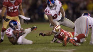 SANTA CLARA — The 49ers' Kyle Williams lost the football. But as painful as that memory is, he doesn't want to lose the feeling.