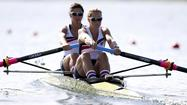 LONDON — The U.S. rowing team marked a solid start to the Olympic Regatta Saturday with performances that kept three local rowers in medal contention going into Wednesday's finals.