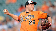 Hunter gives up two home runs in Orioles' 6-1 loss to Athletics