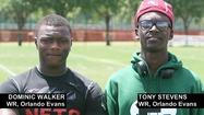 Gridiron Kings: Orlando Evans teammates Dominic Walker, Tony Stevens share spotlight for all-star event