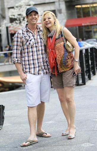 Brian Burrows and Bettina Kozlowski