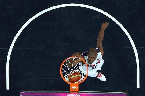 Kevin Durant had 22 points as the U.S. defeated France at the London Olympics.