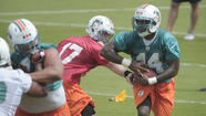 Lamar Miller spent most of the offseason wrapped in imaginary bubble wrap, protected from contact.