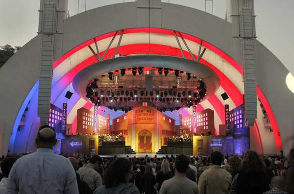 "The Hollywood Bowl hosted Mel Brooks' classic musical ""The Producers"" over the weekend."