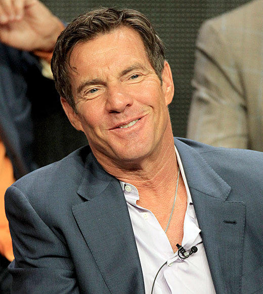 Overheard at 2012 Summer TV Press Tour: I guess my haircut fits that era really well. -- Dennis Quaid on doing 1960s period pieces
