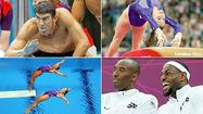 LONDON -- In a race in which Michael Phelps showed there is nothing wrong with his game, the U.S. men's freestyle relay team was passed in the final strokes by France to lose the gold medal and settle for silver.