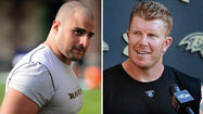 Rookie lineman Gradkowski getting a crash course from Ravens center Matt Birk