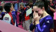 LONDON — Happy tears, sad tears, so many tears for the U.S. women's gymnastics team Sunday.
