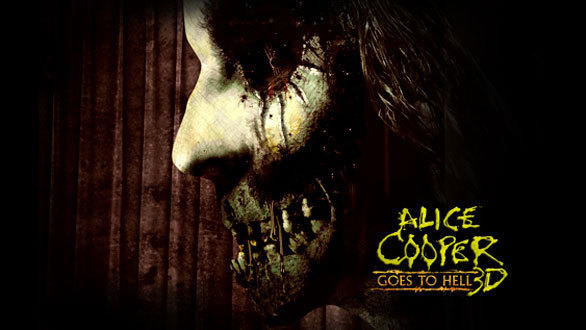 "The Alice Cooper maze at Halloween Horror Nights 2012 will draw on elements from the shock rocker's theatrical concerts and feature music from his 1976 concept album, ""Alice Cooper Goes to Hell."""