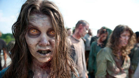Zombies will overtake the Walking Dead haunted maze during Halloween Horror Nights 2012 at Universal Studios Hollywood.