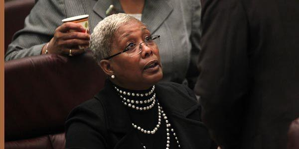 Ald. JoAnn Thompson (16th) at a City Council meeting on Oct. 5, 2011.
