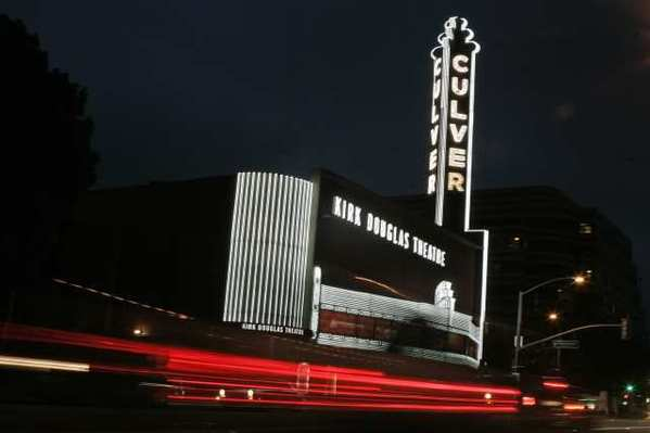 The Kirk Douglas Theater in Culver City.