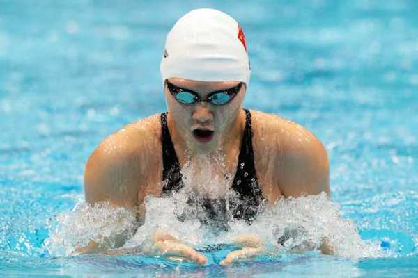 Ye Shiwen of China competes in the 200-meter individual medley on Monday.