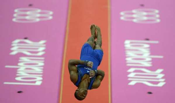 John Orozco is one of the stars of the U.S. men's gymnastics team.