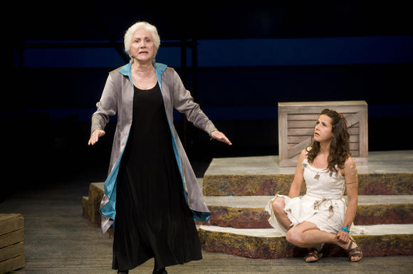 Olympia Dukakis in 'The Tempest'