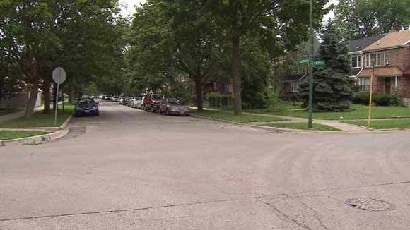 Neighborhood where 1-year-old girl died