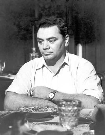 """Ernest Borgnine starred as Marty Pilletti in the 1955 drama """"Marty,"""" a role that won him the Oscar for Best Actor."""
