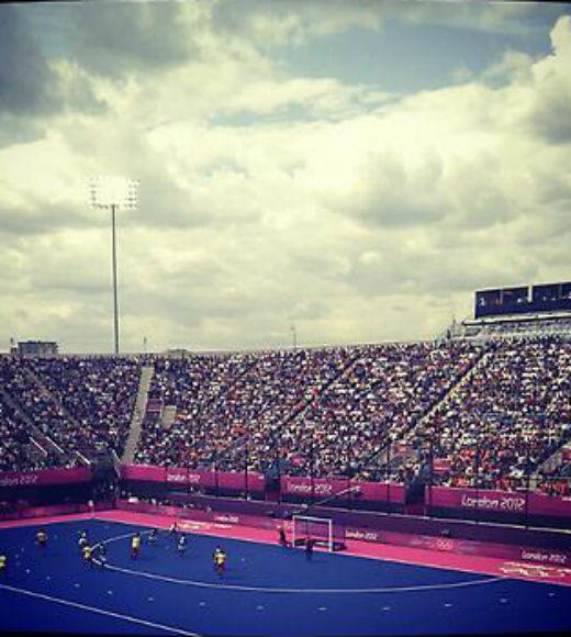 London 2012: Stunning mobile uploads from the Summer Olympics: #olympics2012 #hockey --@bexvonrex