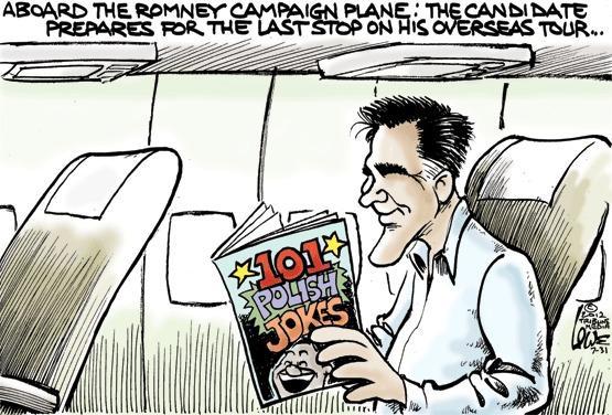 Romney's trip abroad II