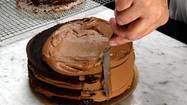 Triple chocolate cake like mom used to make