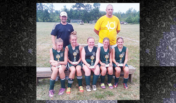The Laurel Highlands Futbol Club Girls U-14 Elite team