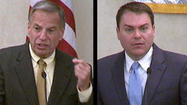 SAN DIEGO -- Rep. Bob Filner, D-San Diego, edged out Councilman Carl DeMaio, his opponent in the San Diego mayor's race, in a poll released Monday.
