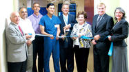 West Virginia University Hospitals-East's City Hospital officials celebrated the opening of a new interventional radiology suite Monday with a ribbon-cutting ceremony co-hosted by the Chamber of Commerce of Martinsburg and Berkeley County.