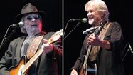 In Portsmouth on Sunday night, <strong>Merle Haggard</strong> and <strong>Kris Kristofferson</strong> gave music fans a taste of what country sounded like before arena-rock bombast and Jimmy Buffett-inspired cheer invaded Nashville.