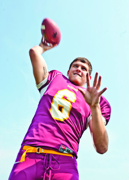 Senior quarterback Billy Abney threw for 2,005 yards and 22 touchdowns during Garrard's 12-win season in 2011, but he'll be looking for new receivers this season when the Lions try to continue last year's success.