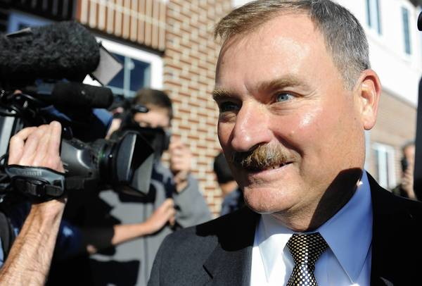 Gary Schultz, a retired Penn State University vice president who faces perjury charges.