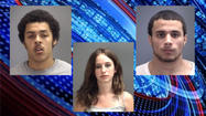 A 20-year-old woman was arrested this week after authorities said she used Facebook to lure a police informant to Indianapolis, where four men allegedly beat him up.