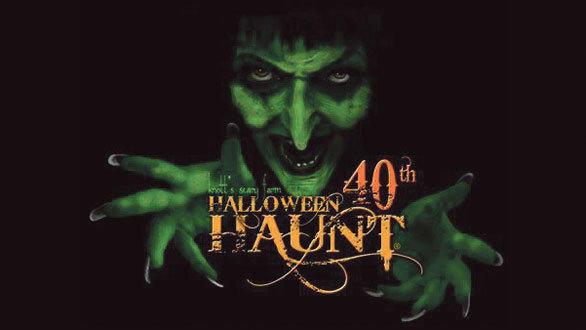 Halloween Haunt 2012 at Knott's Berry Farm.